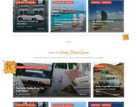 #57 for Travel Blog Design Improvements Needed af ZoomingPicas