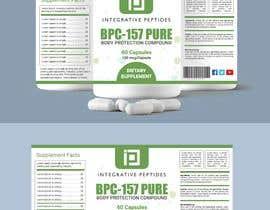 Nro 461 kilpailuun Supplement label design käyttäjältä biswajitgiri