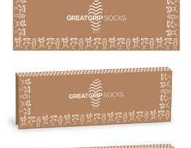 Nro 36 kilpailuun PACKAGING DESIGN for children's socks käyttäjältä saurov2012urov