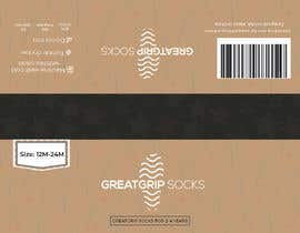 Nro 39 kilpailuun PACKAGING DESIGN for children's socks käyttäjältä DesignerMaster12