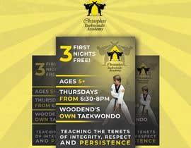 #221 untuk Flyer Martial Arts Contest oleh TheCloudDigital