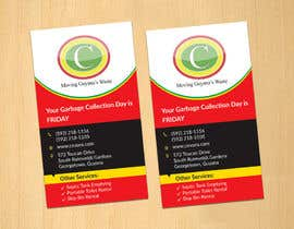 #26 pentru Design some Business Cards for Garbage Collection company de către dinesh0805
