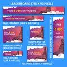 Graphic Design Конкурсная работа №24 для 5 usd free banner for forex company