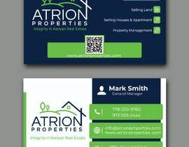 #249 for business card for real estate company by taseen66