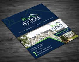 #815 for business card for real estate company by Uttamkumar01