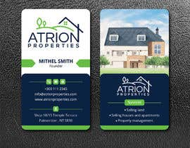 #380 for business card for real estate company by ahsanhabib5477
