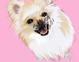 #27 for Dog portrait illustration by silviagai