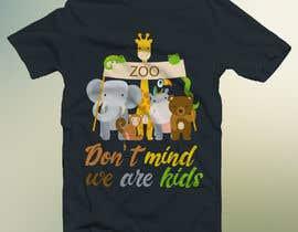 #11 for T-shirt Design Kids Zoo Germany af Nawab266