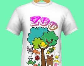 #72 for T-shirt Design Kids Zoo Germany af ajobo