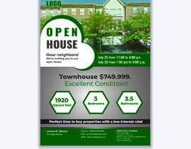 #128 for Need a Open House flyer created by myam6117