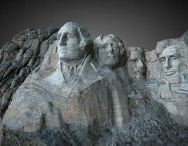 #4 cho A 3D MODEL OF MOUNT RUSHMORE bởi ayaankhan175
