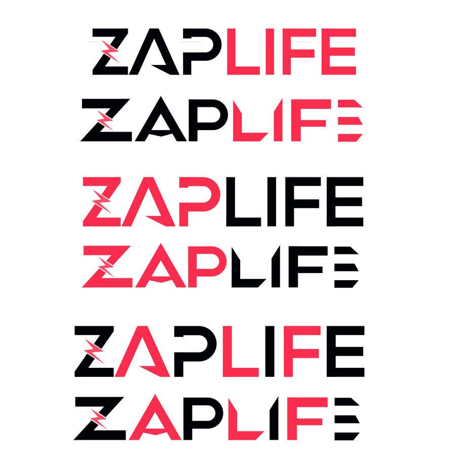 Contest Entry #                                        12                                      for                                         Zap_life logo