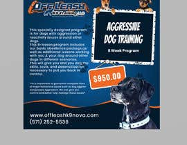 #78 cho High Quality Ads for Dog Training Business bởi miloroy13