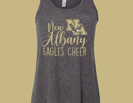 #439 cho New Albany Eagles Cheer Tee Designs bởi bebbytang