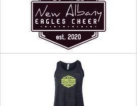 #392 cho New Albany Eagles Cheer Tee Designs bởi AndriNdut