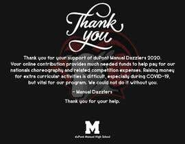 """#7 for """"Thank You"""" card layout & design (comprehensive input provided) by mustafa0wael"""