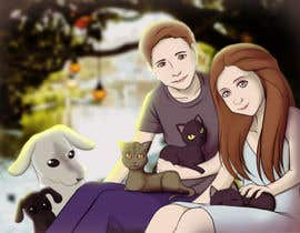 #11 for Illustrated Family Portrait by Dielissa