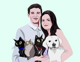 #47 for Illustrated Family Portrait by denyskrot