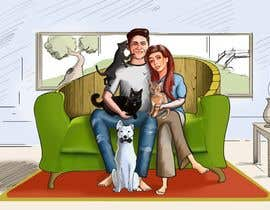 #37 for Illustrated Family Portrait by Zuxxart