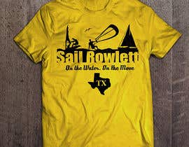 #18 cho Design a T-Shirt for Sail Rowlett bởi imagencreativajp