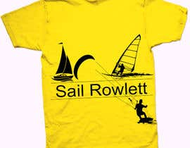 #74 for Design a T-Shirt for Sail Rowlett by CrownDesign