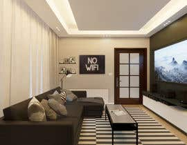 #40 para Living room inter por kpdesignph