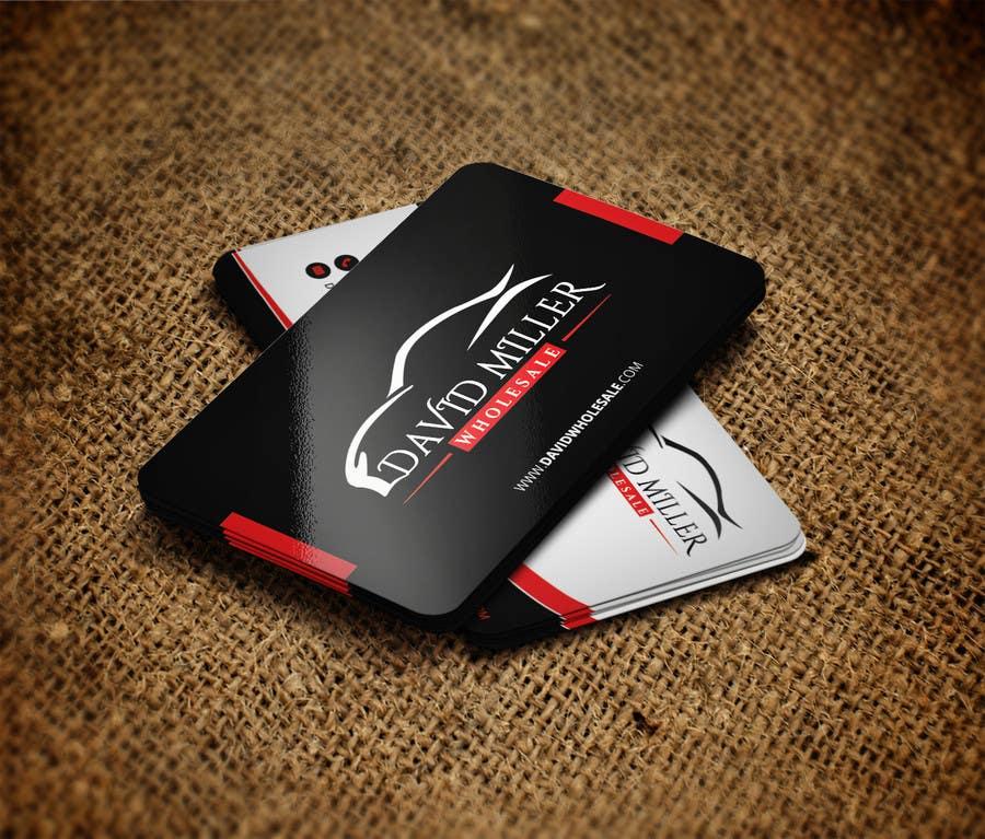 Kilpailutyö #53 kilpailussa Design some Business Cards for David Miller Wholesale