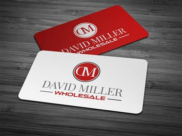 #47 untuk Design some Business Cards for David Miller Wholesale oleh ChKamran