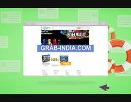 IvilinaGavazova tarafından Create a 3d Animation Video for Promoting Grabindia.com website için no 7