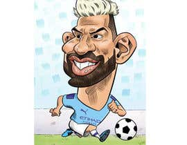 #188 for Funny Football Player Caricature by kazialam2409