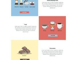 #55 cho landing page design for a coffee and tea online store bởi khp53
