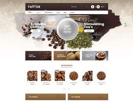 #31 cho landing page design for a coffee and tea online store bởi sifatsiddique123