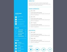 #13 for Single page resume by ithinkdifferent