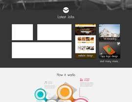 #16 untuk Flat web mockup design oleh rijulg