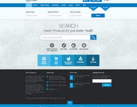 #24 for Redesign homepage by nikil02an