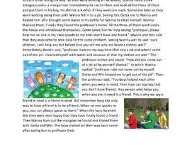 #52 untuk Kids story about a life lesson oleh ANMISHAPAMARTHI