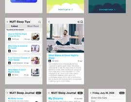 #24 for Nuit - Build an app screen design/prototype by kabboandreigns