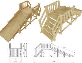 nº 13 pour Design a child's outdoor play construction from wood par ARTandFASHION
