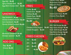 #7 pentru I need some Graphic Design Menu card for my Quick Service Restaurant de către abhikreationz