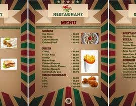 #2 pentru I need some Graphic Design Menu card for my Quick Service Restaurant de către arnab22922