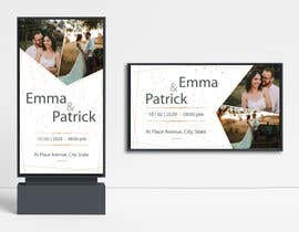 #40 for Design template for wedding solution by appetkova