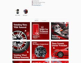 #12 para Design an Instagram puzzle template + brand kit for a Car Detailing business de sarkarimtiaz247
