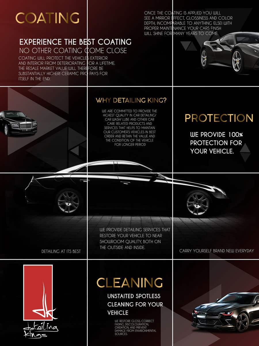 Contest Entry #                                        44                                      for                                         Design an Instagram puzzle template + brand kit for a Car Detailing business