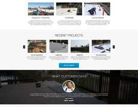 #19 cho Website design for Roofing company bởi nikil02an