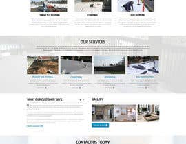#27 cho Website design for Roofing company bởi nikil02an