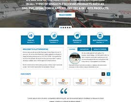 #24 cho Website design for Roofing company bởi gravitygraphics7