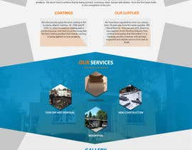 #25 pentru Website design for Roofing company de către Psynsation