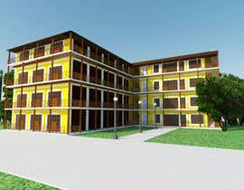 #35 cho 3 D Elevation for a Commercial Building bởi Niranjanisunil