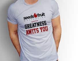 "#160 untuk ""Greatness Awaits You!"" T-Shirt Design oleh mdzahingiralam4"