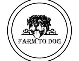 "#44 for I'm looking for logo for a brand named ""Farm To Dawg"" and or ""Raw Dawg"" that incorporates the image of a frenchie with carrots in its mouth. I'd like you to use the reference photos of the French Bull dog I attached. by tasnimmmmm"